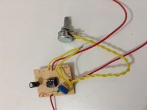 Circuito do mini amplificador