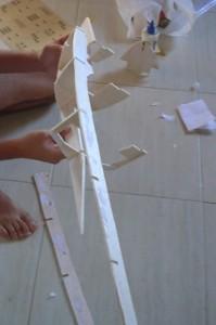 Montando a estrutura.