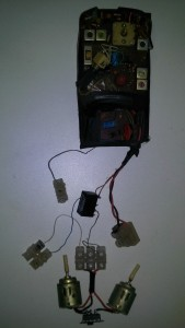 Circuito receptor do controle remoto