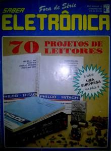 Revista Saber Eletrônica com meu Projeto