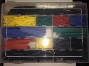 Compartimento para organizar Espaguetes Termoretráteis